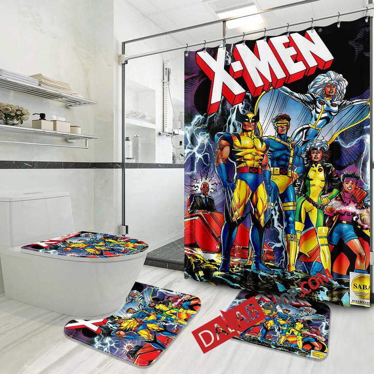 Cartoon Movies X-Men Evolution D 3D Customized Personalized Bathroom Sets