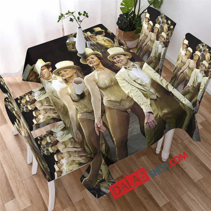 A Chorus Line Broadway Show D 3D Customized Personalized Table Sets