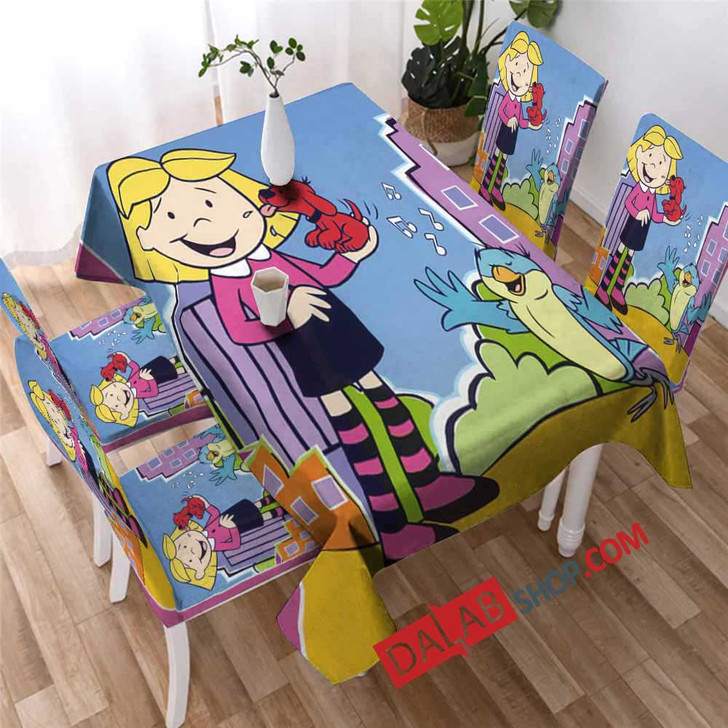 Cartoon Movies Clifford's Puppy Days v 3D Customized Personalized Table Sets