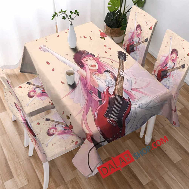 Cartoon Movies Angel Beats! V 3D Customized Personalized Table Sets