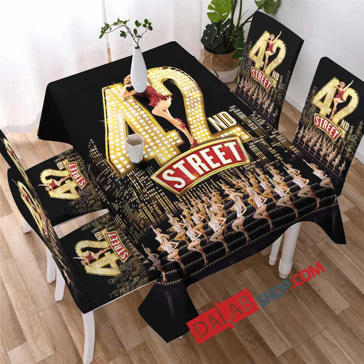 42nd Street Broadway Show D 3D Customized Personalized Table Sets