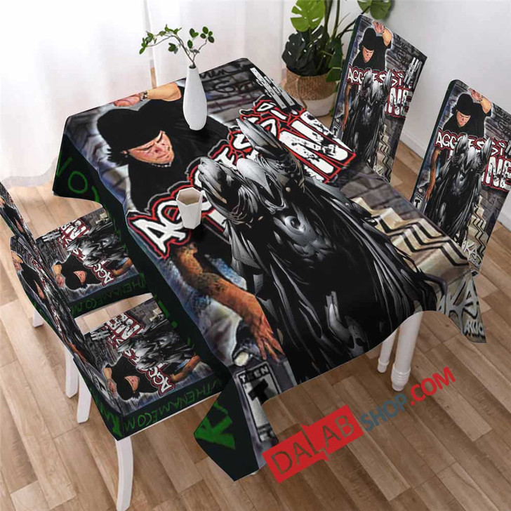 Aggressive Inline PS2 GAME 3D Customized Personalized Table Sets