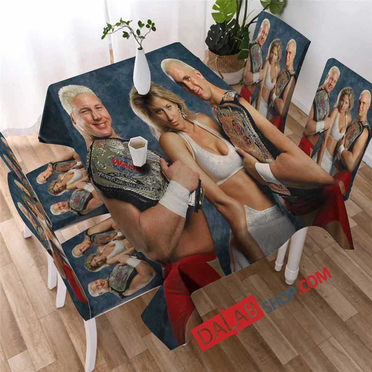 WWE The Bodydonnas V 3D Customized Personalized Table Sets