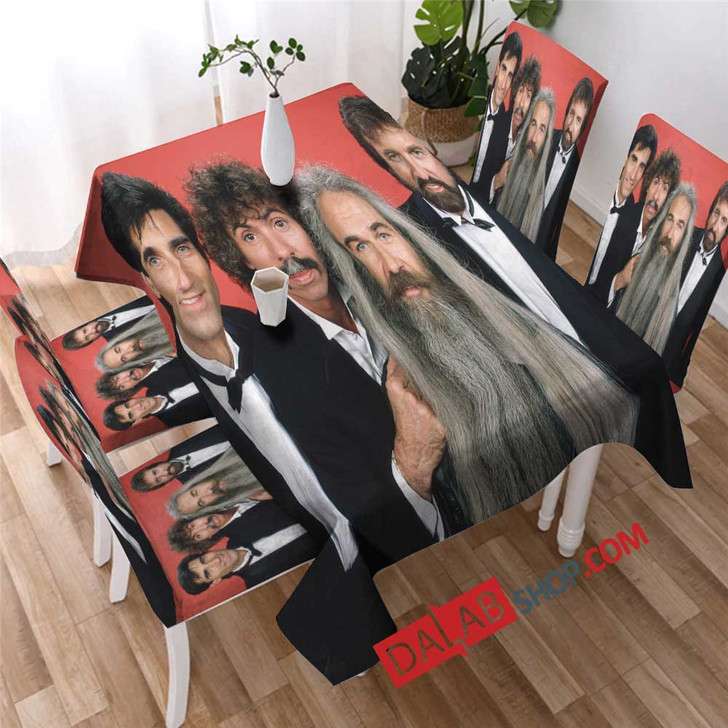 Famous Person The Oak Ridge Boys n copy 3D Customized Personalized Table Sets
