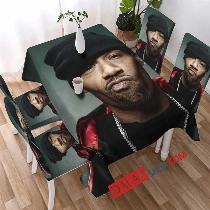 Famous Rapper Redman d 3D Customized Personalized Table Sets