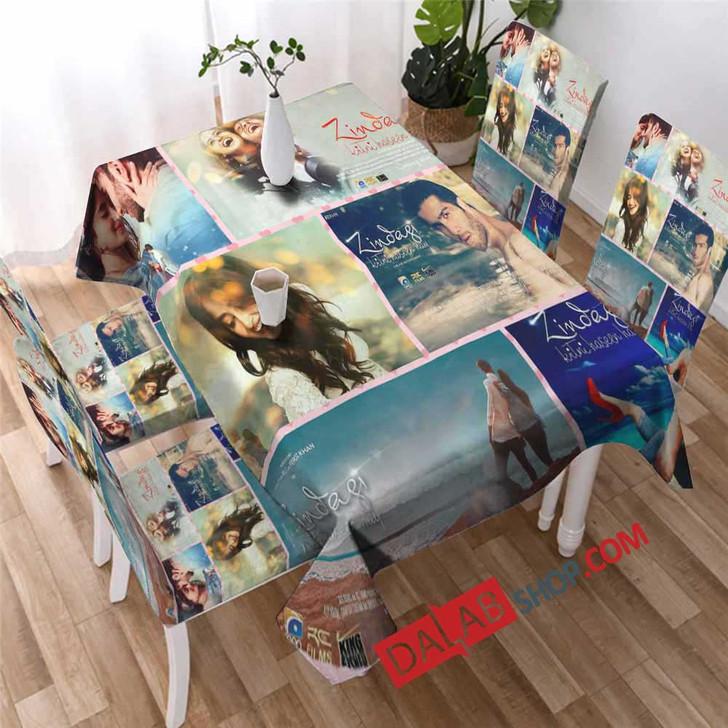 Netflix Movie Zindagi Kitni Haseen Hay v 3D Customized Personalized Table Sets