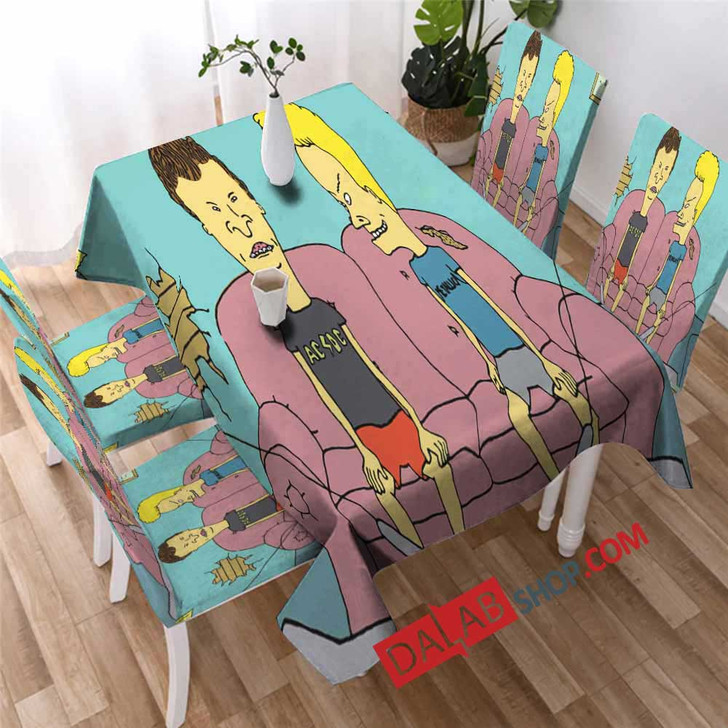 TV Shows Beavis and Butt-Head N 3D Customized Personalized Table Sets