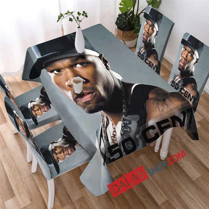 Famous Rapper 50 Cent v copy 3D Customized Personalized Table Sets