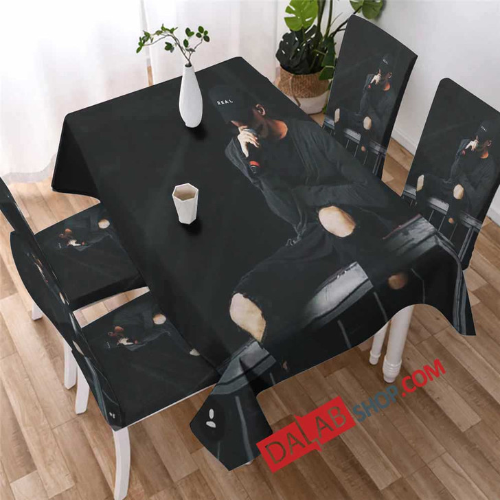 Famous Rapper NF v 3D Customized Personalized Table Sets