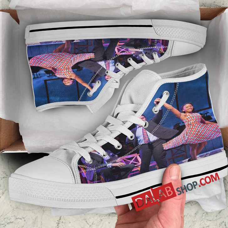 1776 Broadway Show V 3D Customized Personalized high top shoes