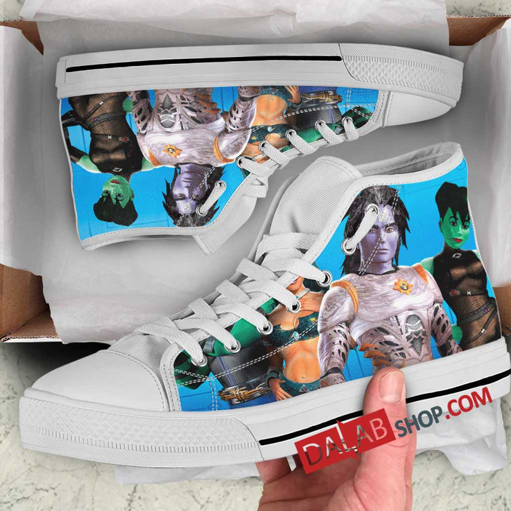 Cartoon Movies ReBoot n 3D Customized Personalized high top shoes