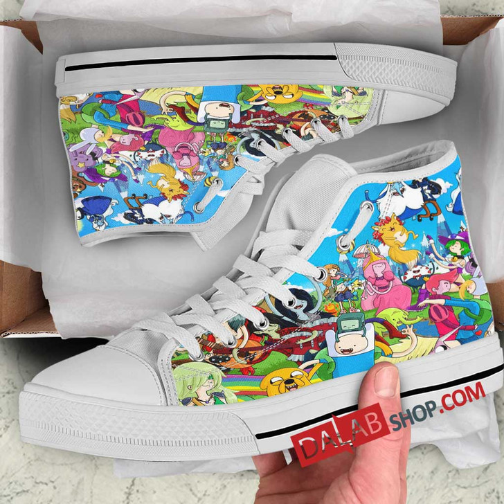 Cartoon Movies Disney's Adventuresf the Gum N 3D Customized Personalized high top shoes