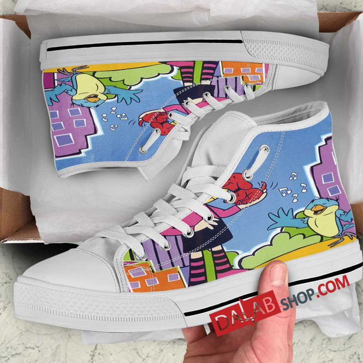 Cartoon Movies Clifford's Puppy Days v 3D Customized Personalized high top shoes