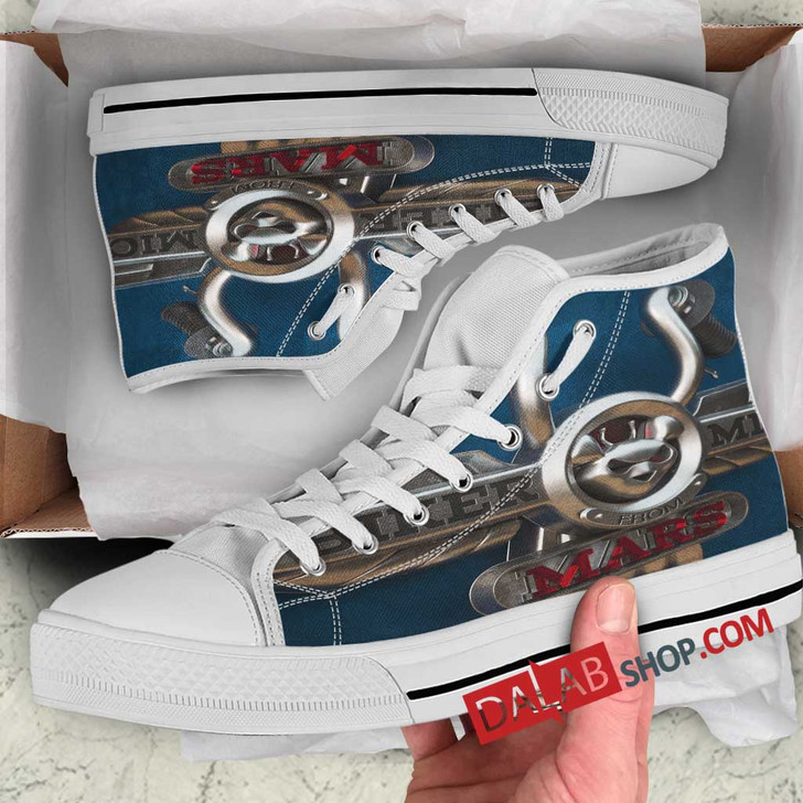 Cartoon Movies Biker Mice from Mars V 3D Customized Personalized high top shoes