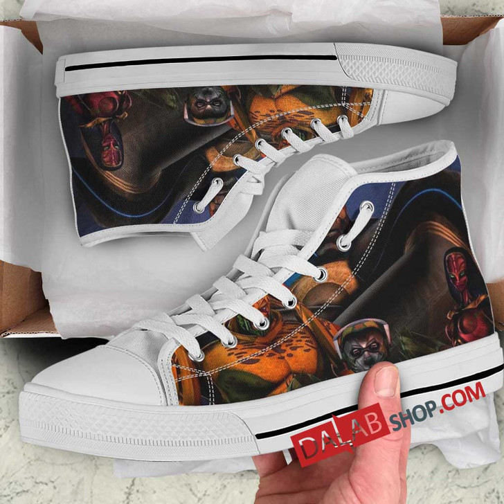 Cartoon Movies Beast Machines N 3D Customized Personalized high top shoes