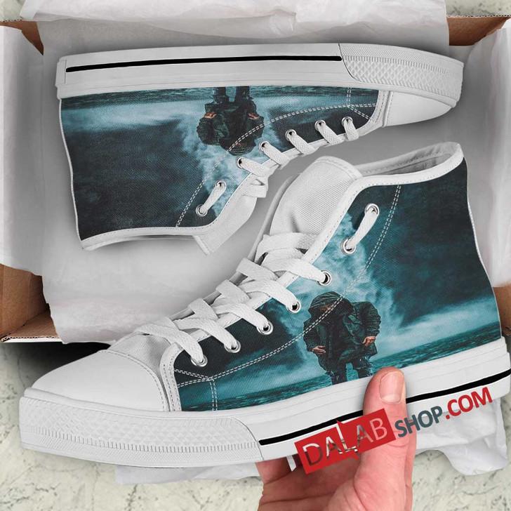 customize high top shoes