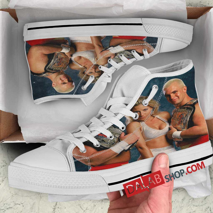 WWE The Bodydonnas V 3D Customized Personalized high top shoes