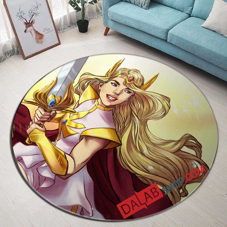 Cartoon Movies She-Ra and the Princesses V 3D Customized Personalized Round Area Rug