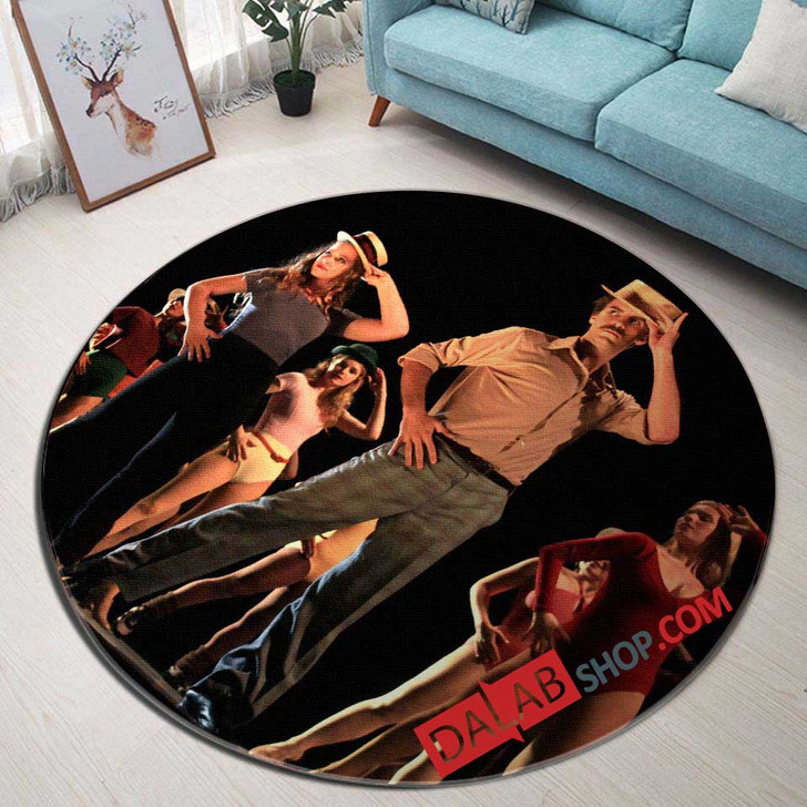 A Chorus Line Broadway Show V 3D Customized Personalized Round Area Rug