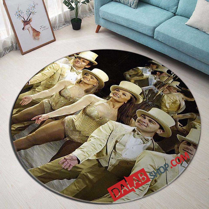 A Chorus Line Broadway Show D 3D Customized Personalized Round Area Rug