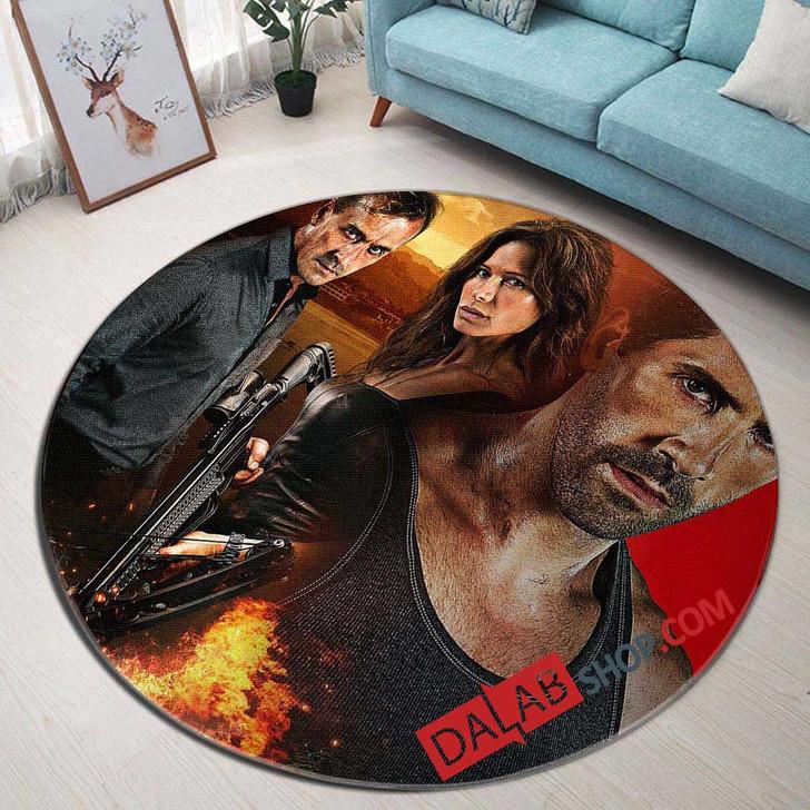 Netflix Movie Target v 3D Customized Personalized Round Area Rug