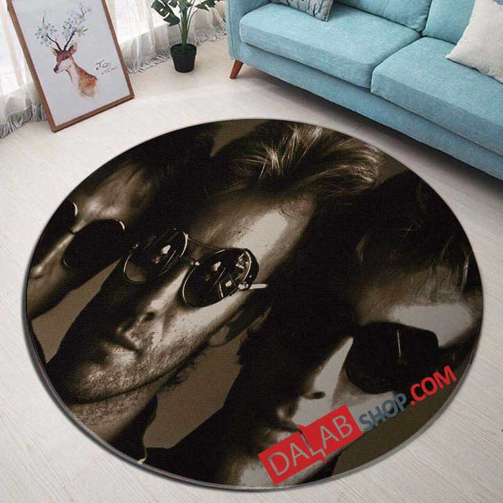 Musical Artists '80s The Police2N 3D Customized Personalized Round Area Rug