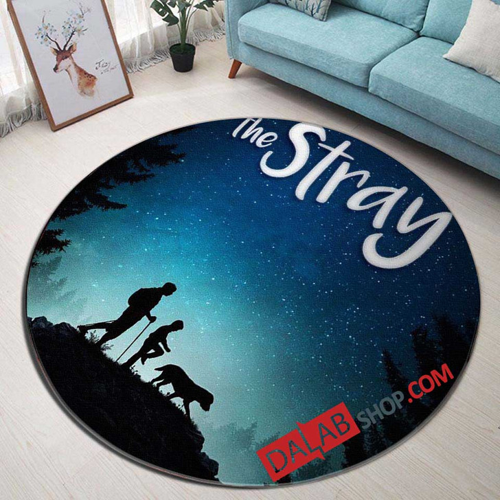 Netflix Movie The Stray V 3D Customized Personalized Round Area Rug