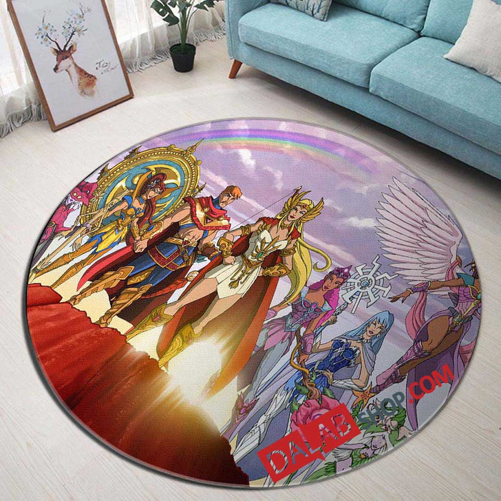Cartoon Movies She-Ra and the Princesses N 3D Customized Personalized Round Area Rug