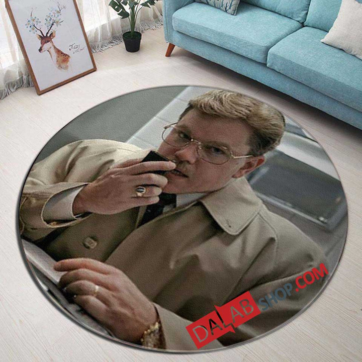 Netflix Movie The Informant! v 3D Customized Personalized Round Area Rug