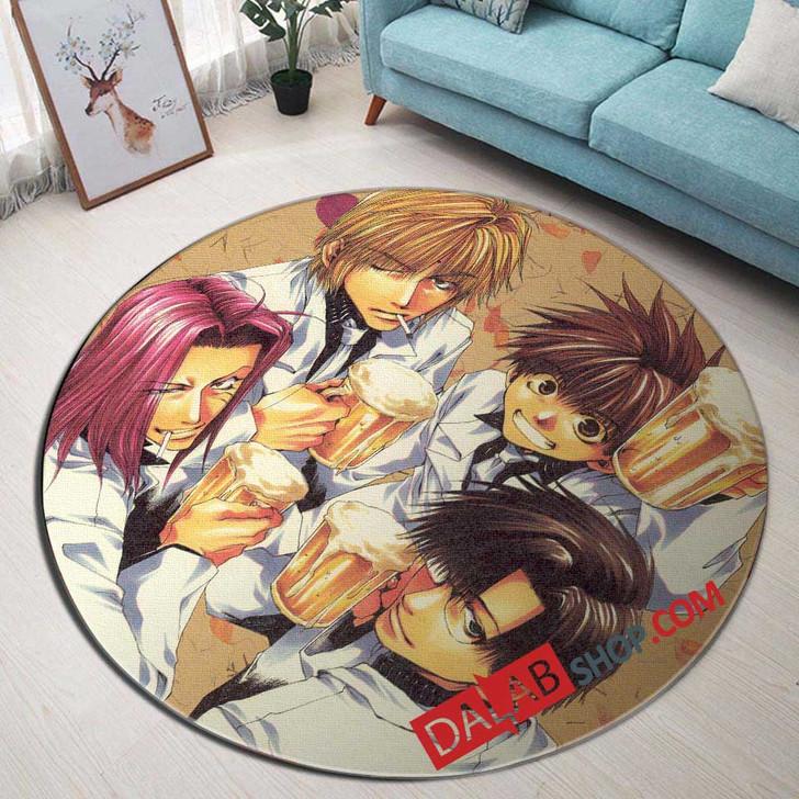 Cartoon Movies Saiyuki V 3D Customized Personalized Round Area Rug