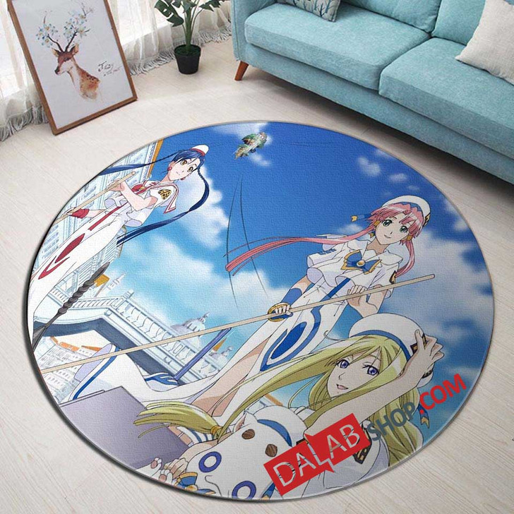Anime Aria The Origination n 3D Customized Personalized Round Area Rug