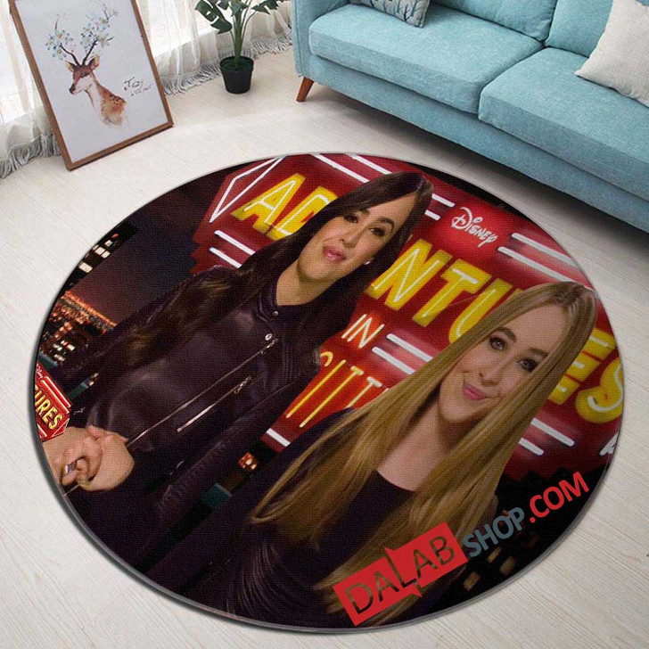 Disney Movies Adventures in Babysitting (2016) n 3D Customized Personalized Round Area Rug