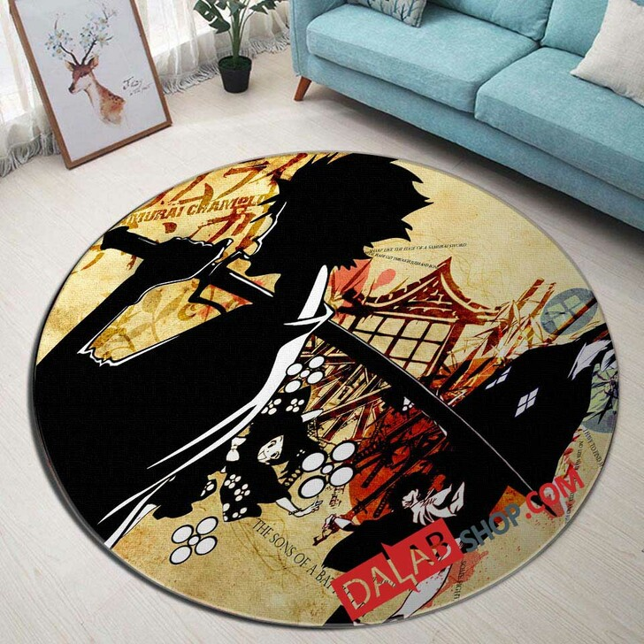 Cartoon Movies The Boondocks N 3D Customized Personalized Round Area Rug