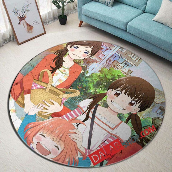 Anime 3-gatsu no Lion 2nd Season v 3D Customized Personalized Round Area Rug