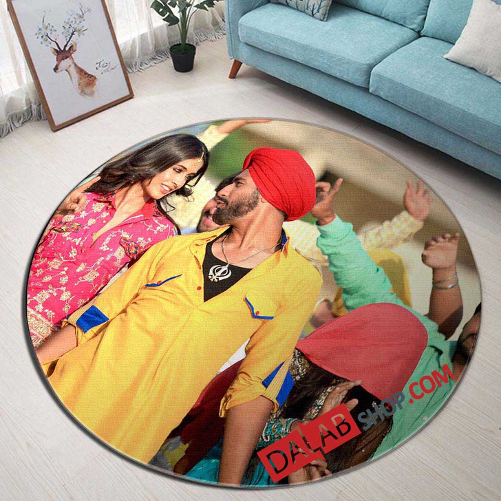 Netflix Movie Zubaan v 3D Customized Personalized Round Area Rug
