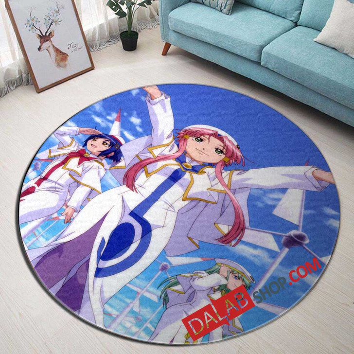 Anime Aria The Origination d 3D Customized Personalized Round Area Rug