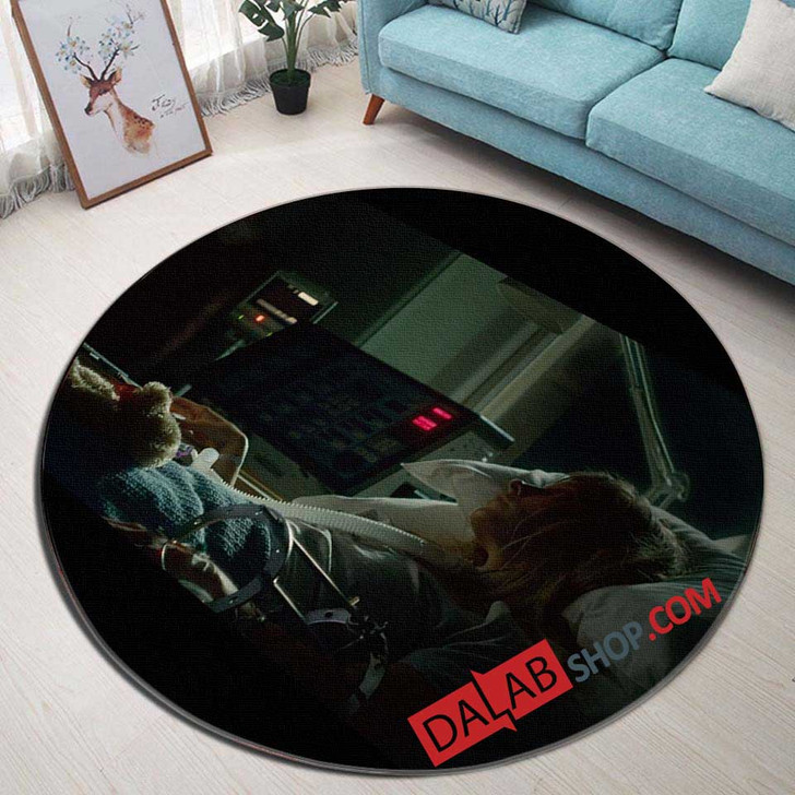 Movie Nails v 3D Customized Personalized Round Area Rug