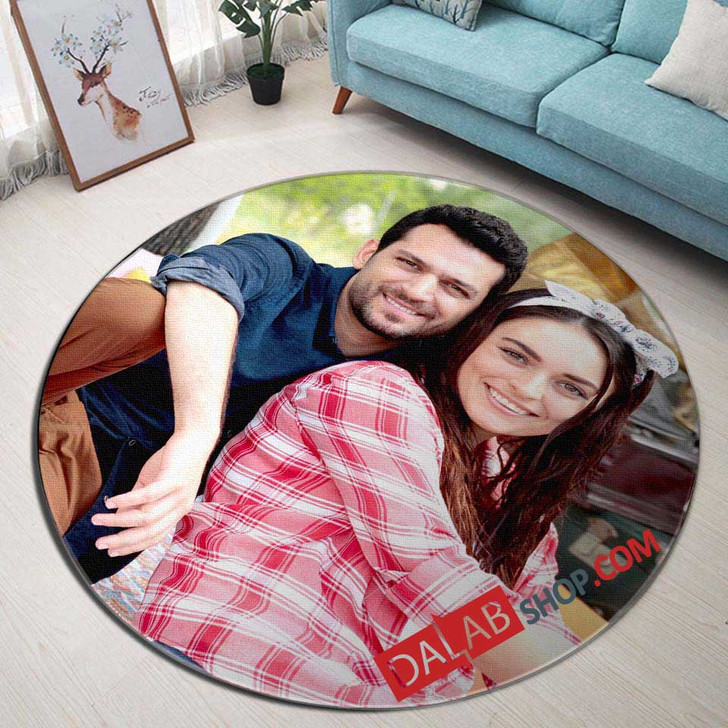 Movie Kocan Kadar Konus d 3D Customized Personalized Round Area Rug