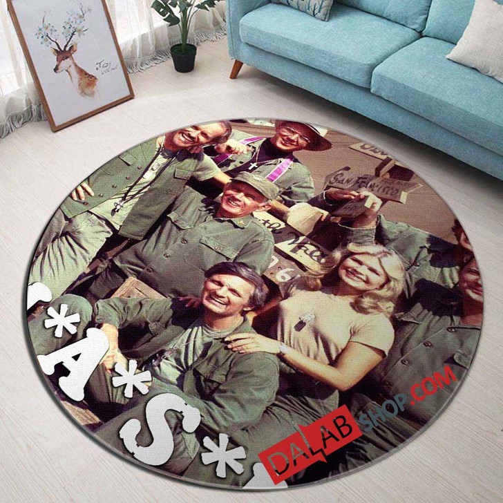 TV Shows 47 MASH D 3D Customized Personalized Round Area Rug