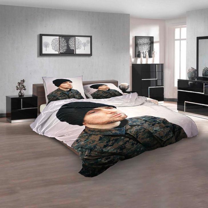 Famous Rapper Jehst d 3D Customized Personalized  Bedding Sets