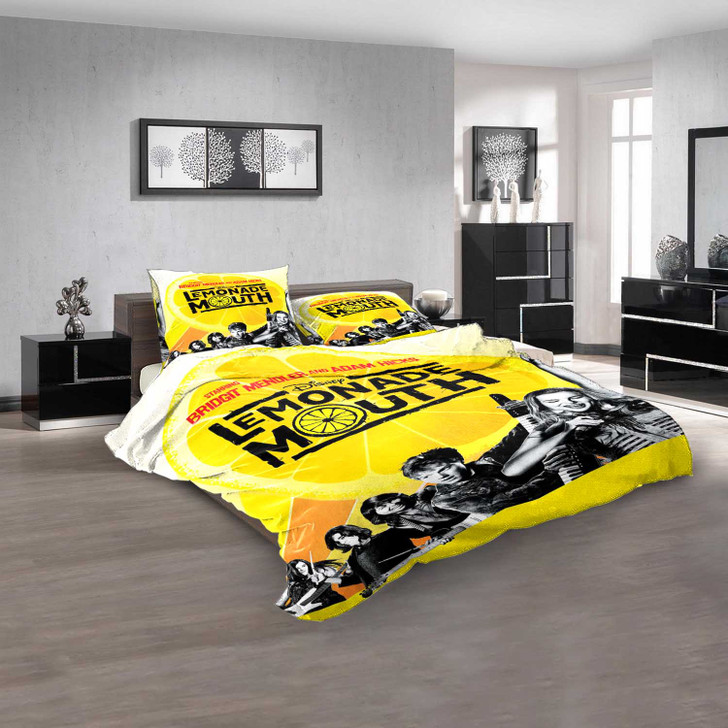 Disney Movies Lemonade Mouth (2011) d 3D Customized Personalized  Bedding Sets