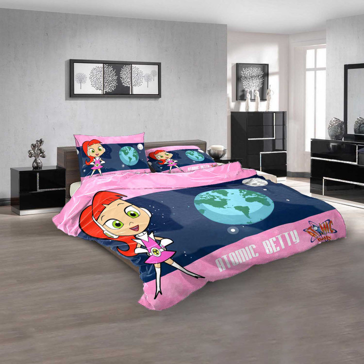 Cartoon Movies Atomic Betty N 3D Customized Personalized  Bedding Sets