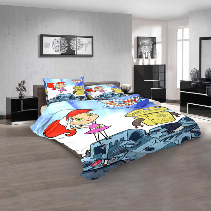 Cartoon Movies Atomic Betty D 3D Customized Personalized  Bedding Sets