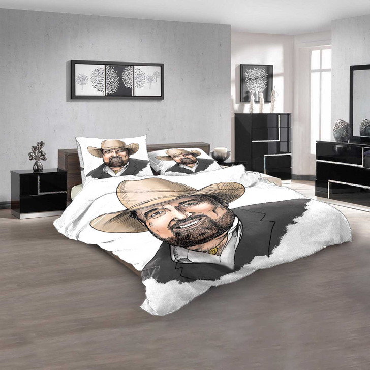 Famous Person Johnny Lee d 3D Customized Personalized  Bedding Sets