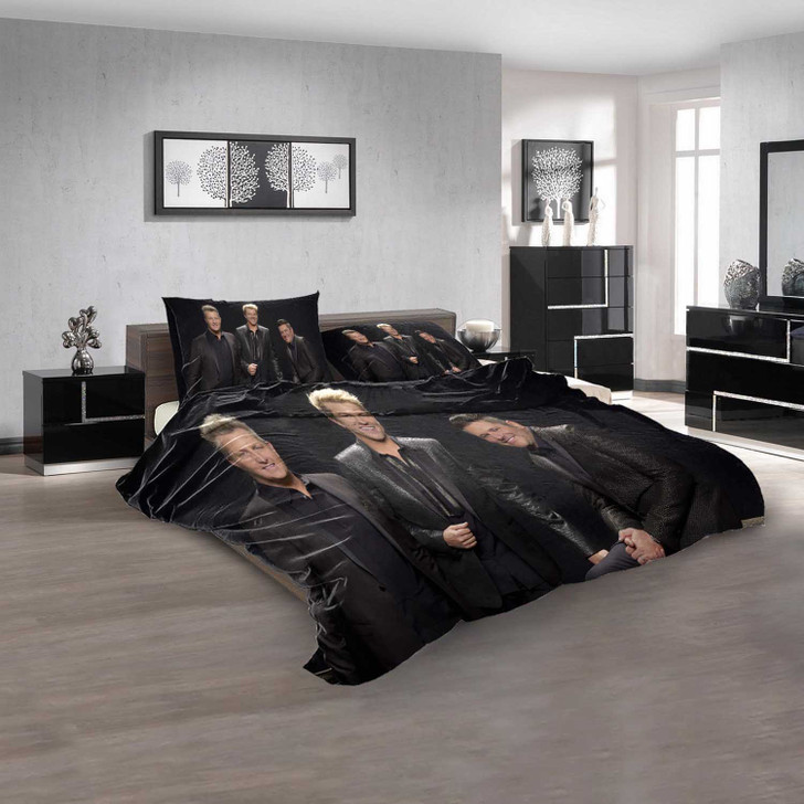Famous Person Rascal Flatts n 3D Customized Personalized  Bedding Sets