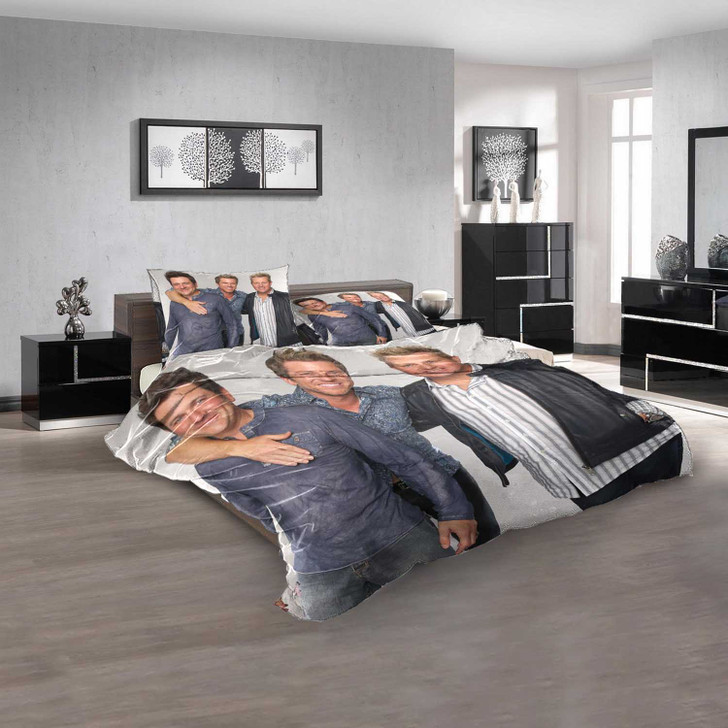 Famous Person Rascal Flatts v 3D Customized Personalized  Bedding Sets