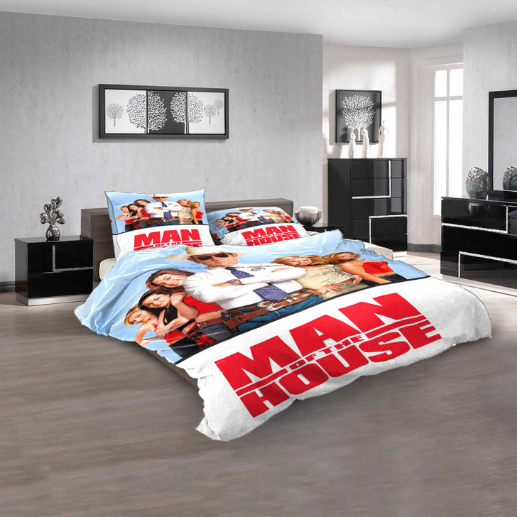 Disney Movies Man of the House d 3D Customized Personalized  Bedding Sets