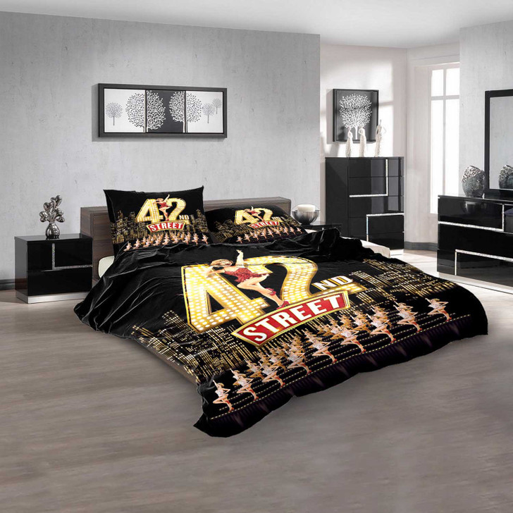 42nd Street Broadway Show D 3D Customized Personalized  Bedding Sets