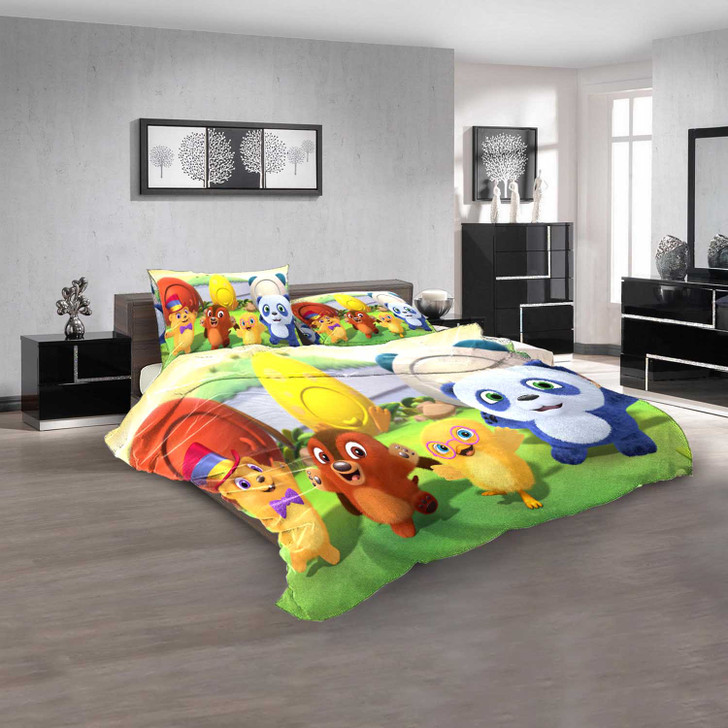Cartoon Movies Ruff-Ruff Tweet and Dave N 3D Customized Personalized  Bedding Sets