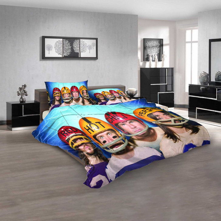 Musical Artists '80s Red Hot Chili Peppers 2N 3D Customized Personalized  Bedding Sets